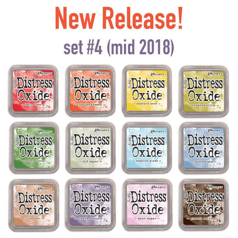 Tim Holtz Distress Oxides Ink Pads - 12 colors mid 2018 release