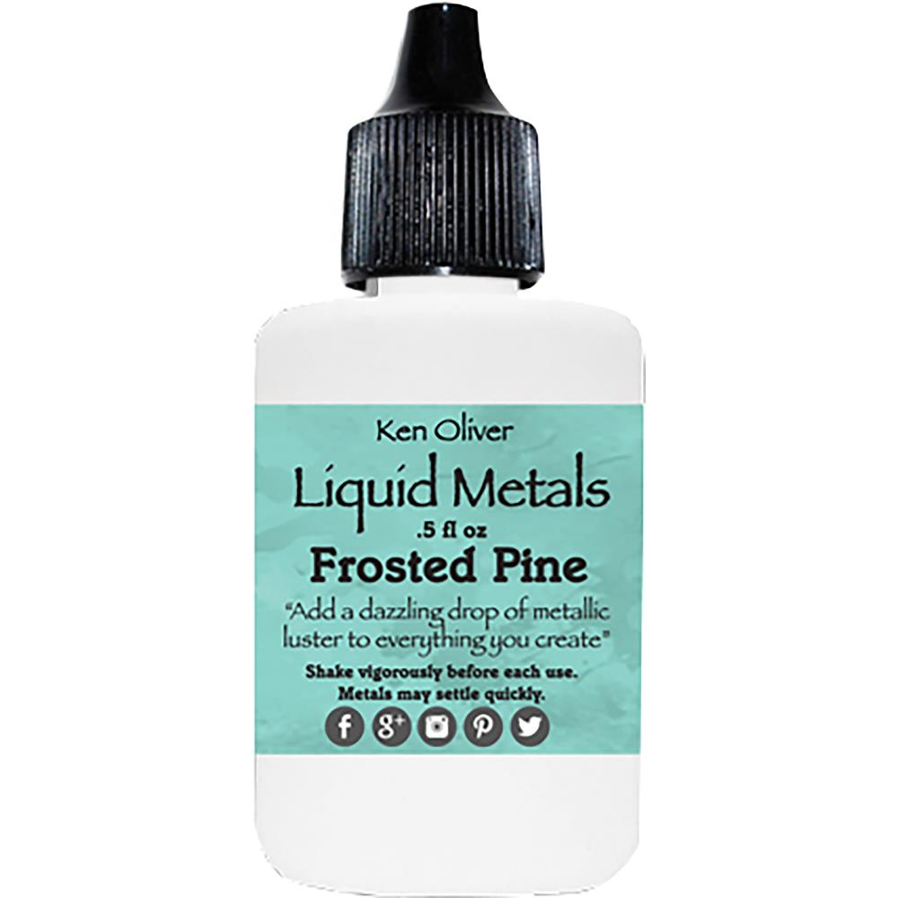 Ken Oliver Liquid Metals .5fl oz - Frosted Pine