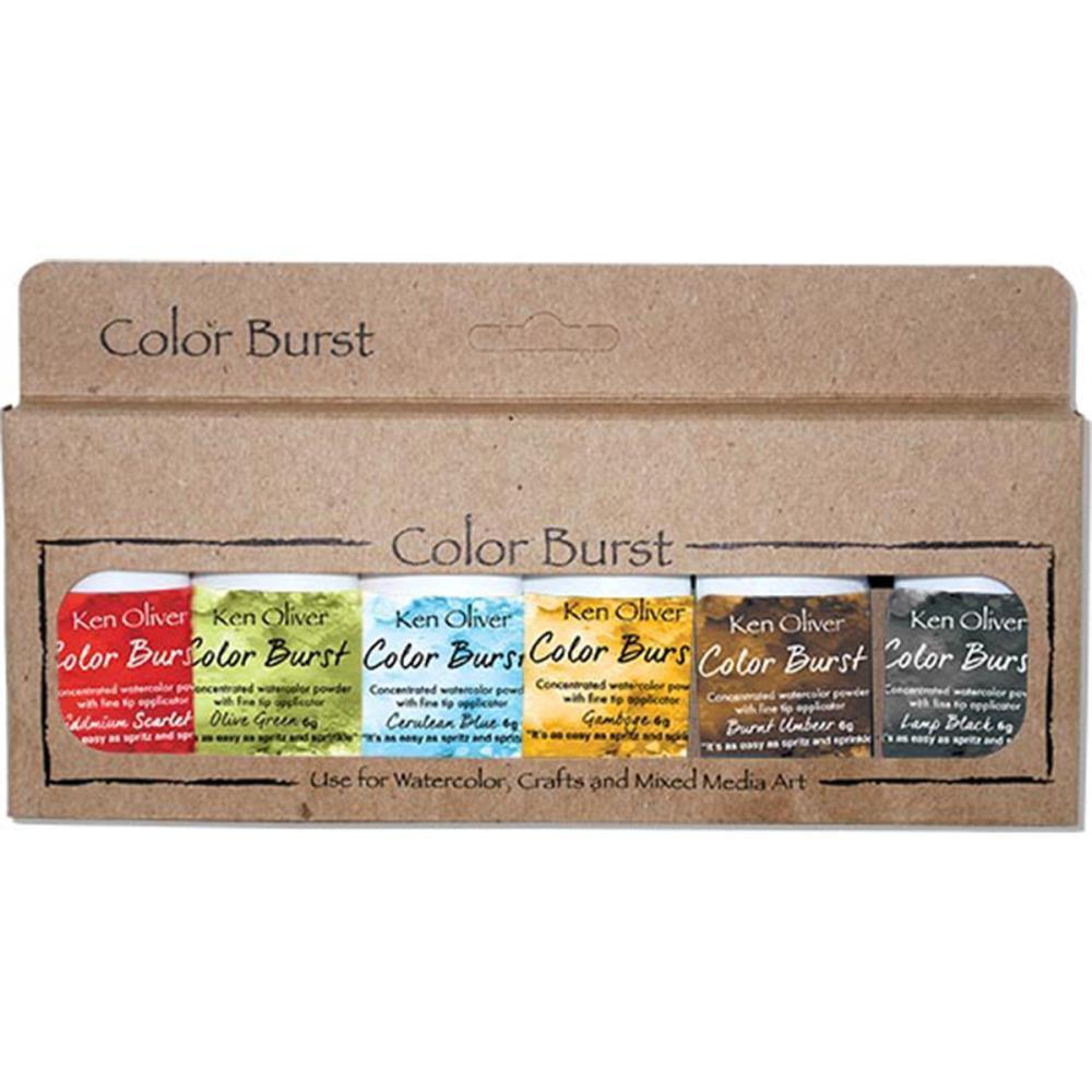 Ken Oliver Color Burst Powder 6 pack - Moroccan