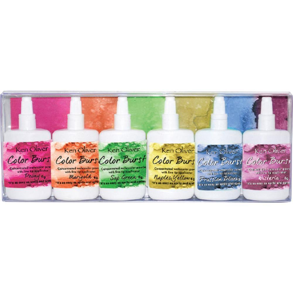 Ken Oliver Color Burst Powder 6 pack Fresh Floral