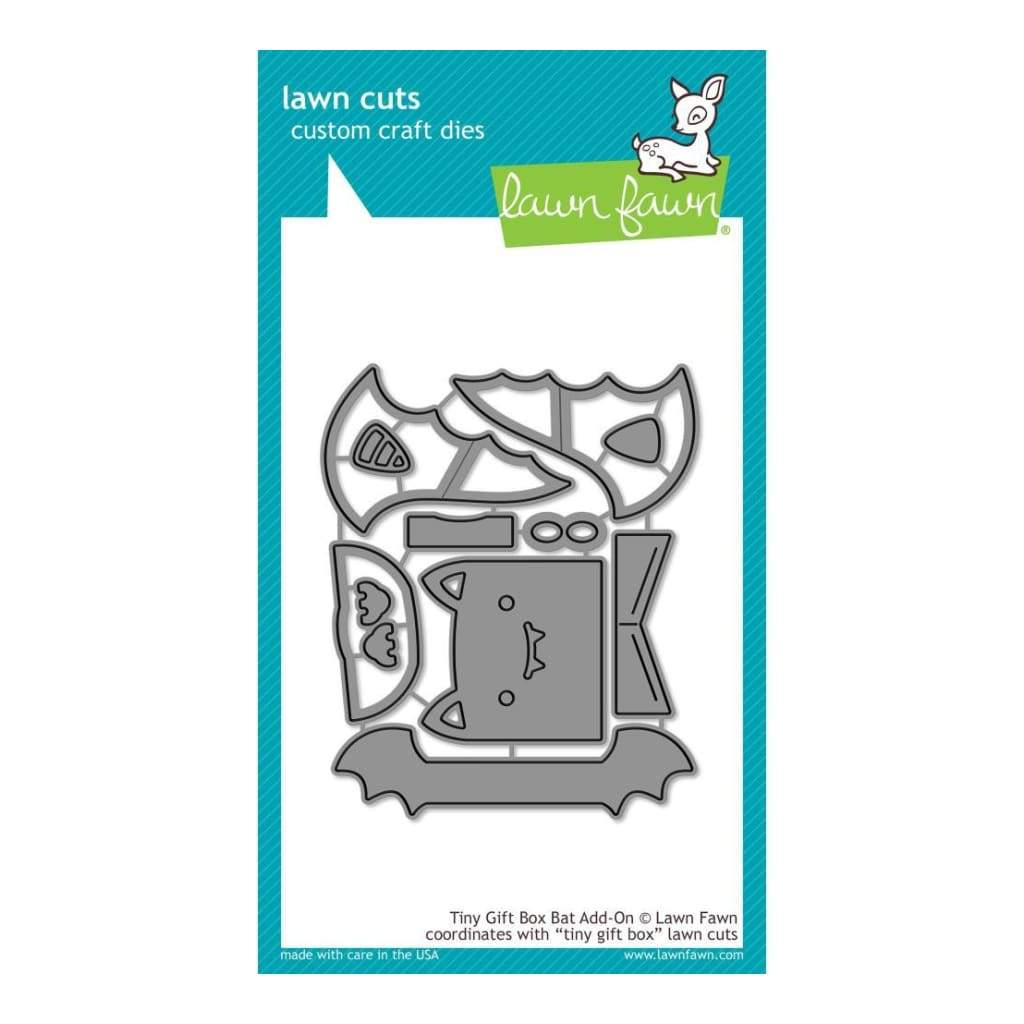 Lawn Cuts Custom Craft Die Tiny Gift Box Bat Add-On