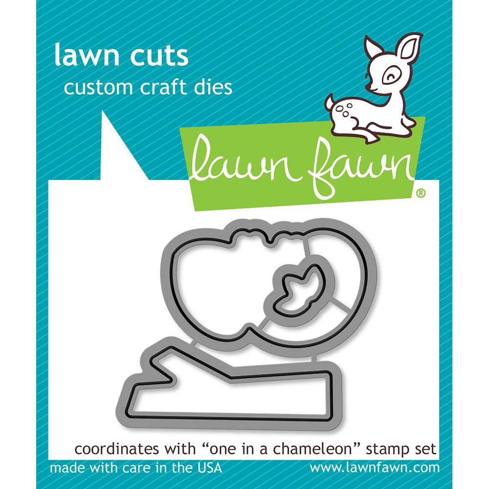 Lawn Cuts Custom Craft Die One In A Chameleon