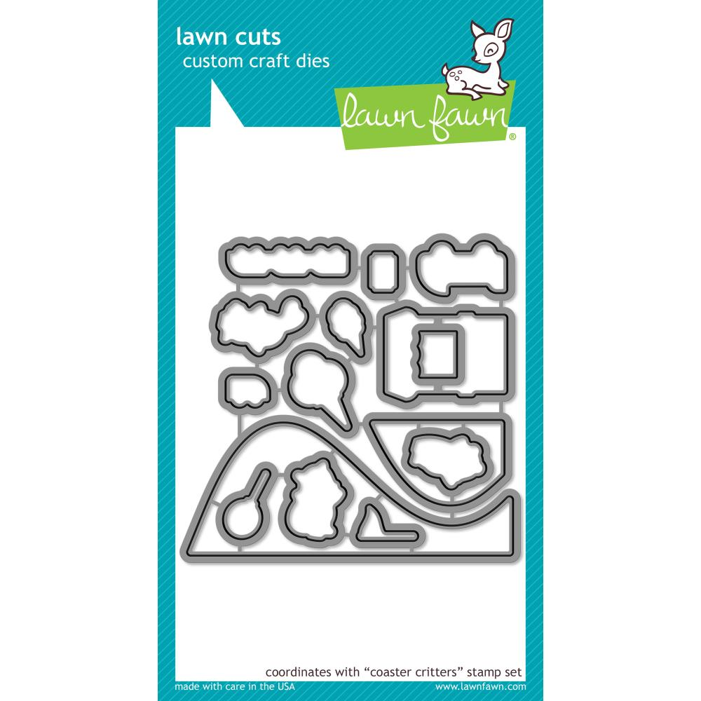 Lawn Cuts Custom Craft Die Coaster Critters