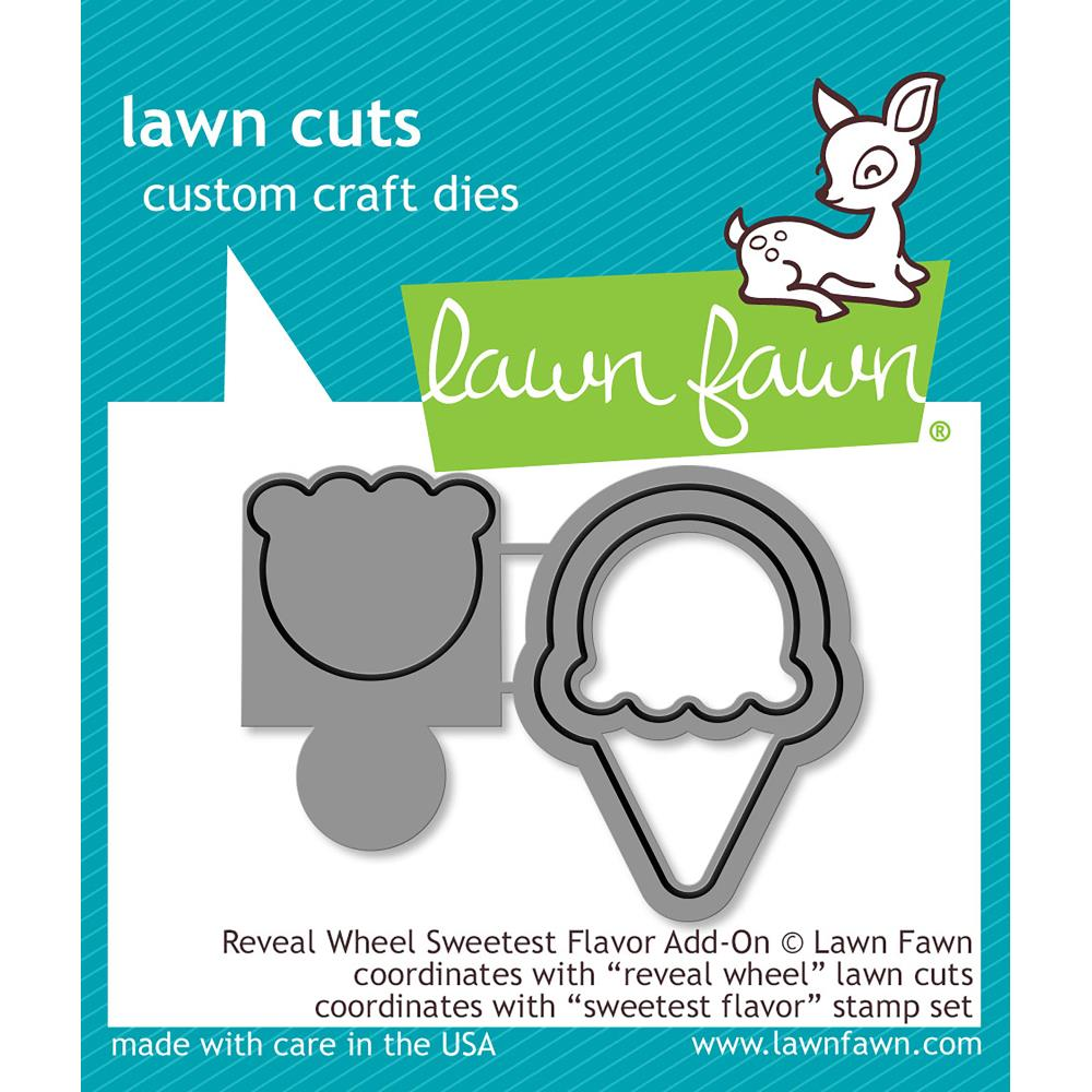 Lawn Cuts Custom Craft Die Reveal Wheel Sweetest Flavor