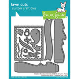 Lawn Cuts Custom Craft Die Shadow Box Card Ocean