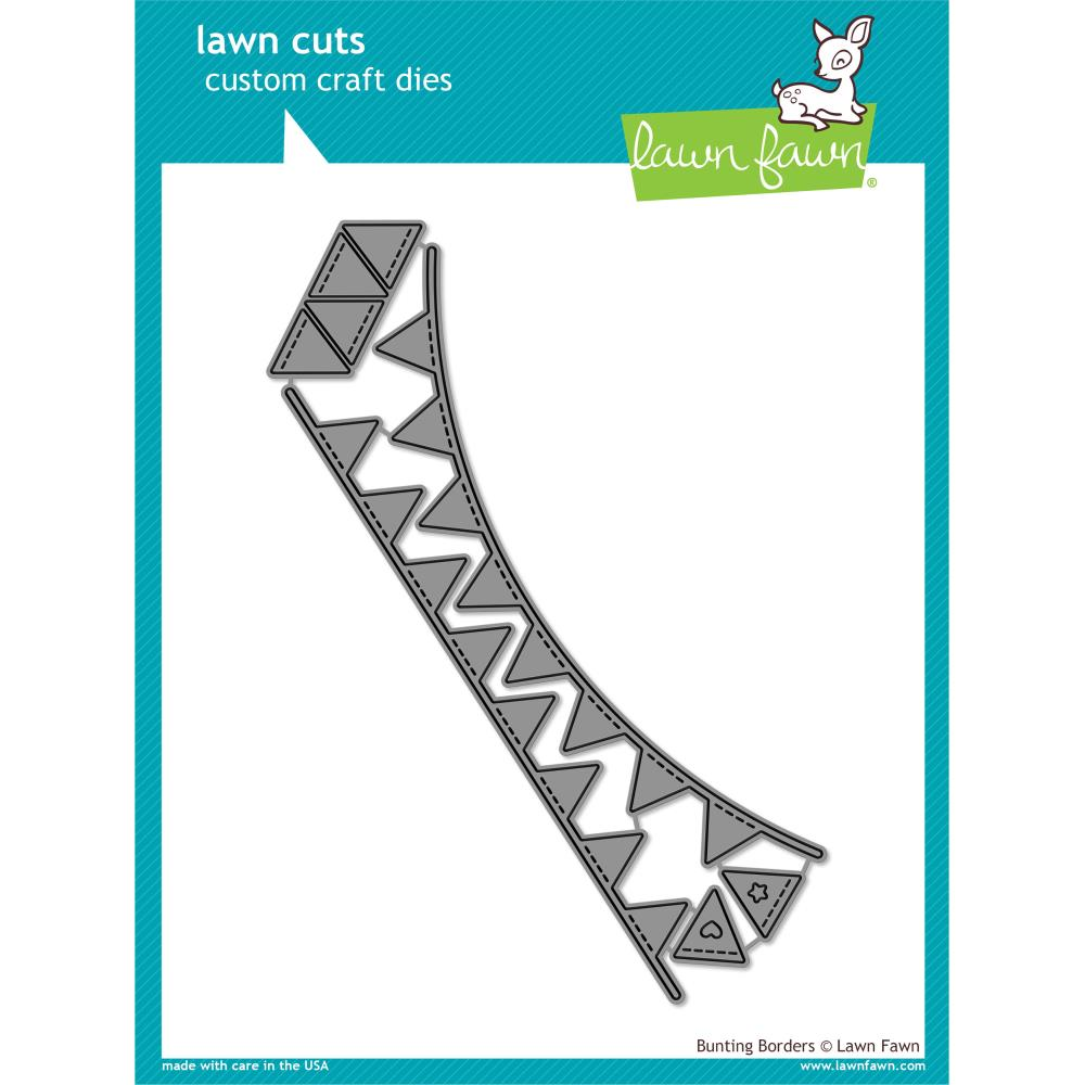 Lawn Cuts Custom Craft Die Bunting Borders
