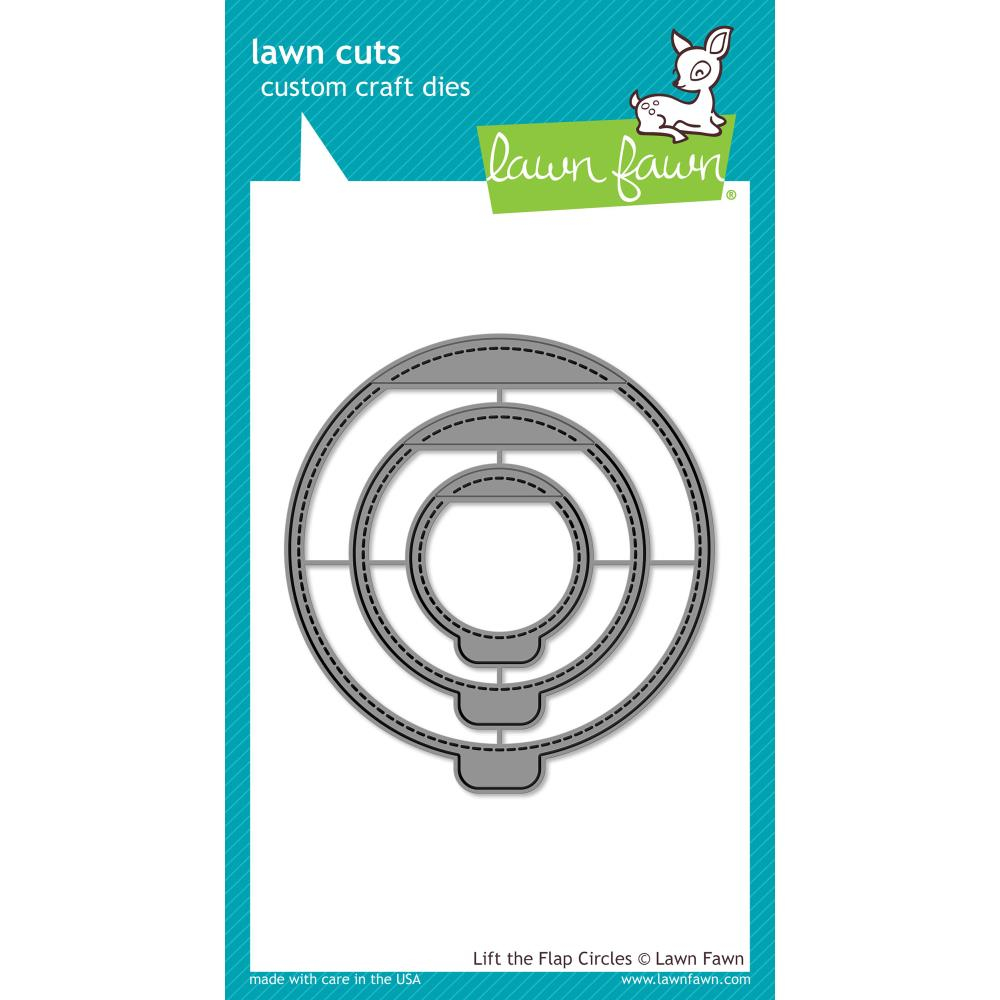 Lawn Cuts Custom Craft Die Lift The Flap Circles