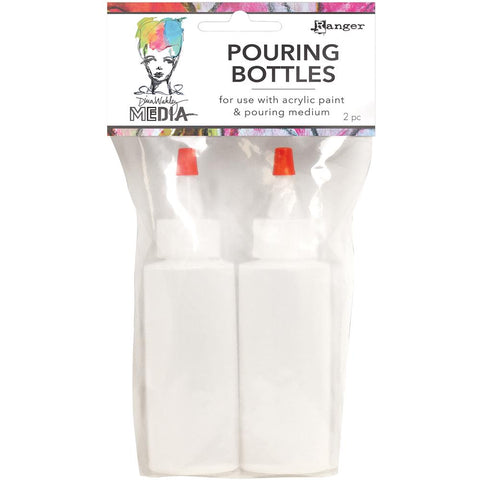 Dina Wakley Media Pouring Bottles Set 2/Pkg