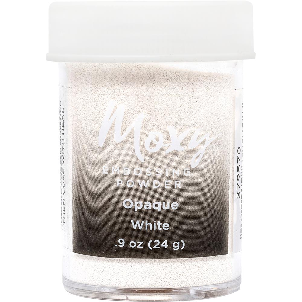 Moxy Opaque Finish Embossing Powder 1oz - White