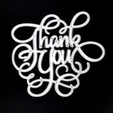 Poppy Crafts Dies - Thank You Die Design