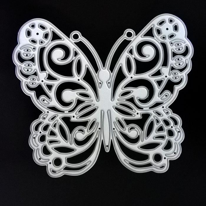 Poppy Crafts Dies - Ornate Butterfly Die Design