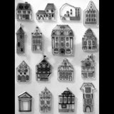 Poppy Crafts Stamps - All the Houses