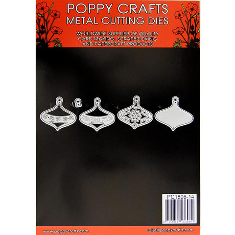 Poppy Crafts Dies - Christmas Baubles Die Designs