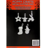 Poppy Crafts Dies - Christmas Ornament #5 Die Designs