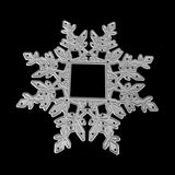 Poppy Crafts Dies - Snowflake Frame Die Design
