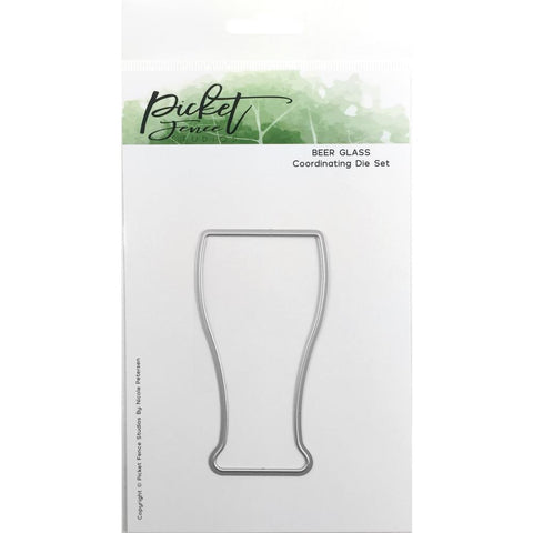 Picket Fence Studios Steel Dies Beer Glass