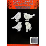 Poppy Crafts - 4 Birds Die Designs