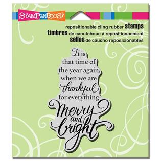 Stampendous Cling Stamp Thankful