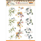 Find It Trading Precious Marieke Punchout Sheet Young Animals, Spring Delight