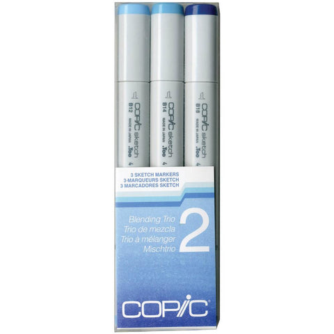 Copic Sketch Blending Trio Markers 3/Pkg Set 2