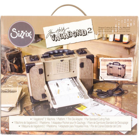 Sizzix Vagabond 2 Machine Inspired By Tim Holtz US Version