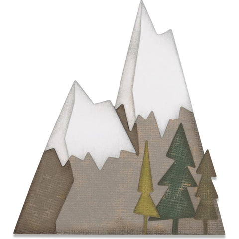 Sizzix Thinlits Dies - Alpine by Tim Holtz