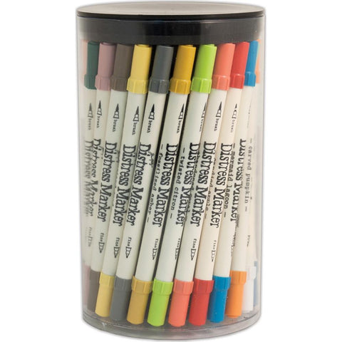 Tim Holtz Distress Markers Tube Set 60/Pkg