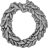 Idea-Ology Metal Adornments 1.375 inch 4 pack Antique Nickel Wreaths