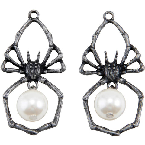 Tim Holtz Idea-Ology Metal Adornments 2 pack - Spiders