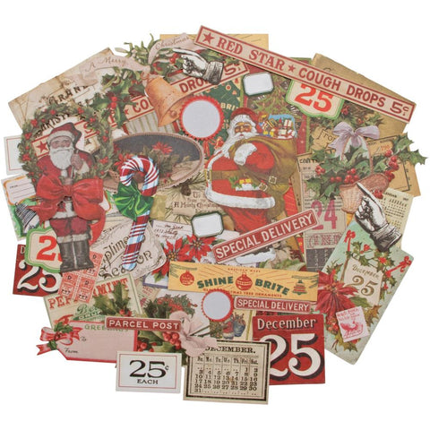 Idea-Ology Ephemera Pack 51/Pkg Christmas