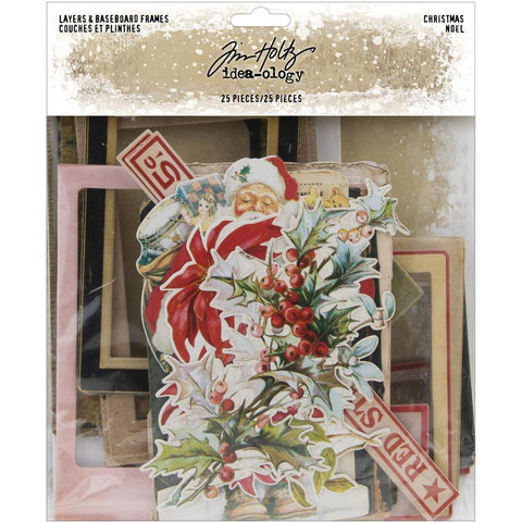 Idea-Ology Layers & Baseboard Frames 25/Pkg Christmas