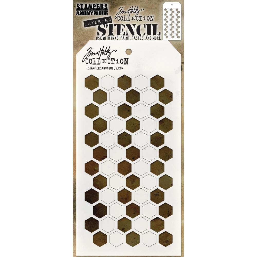 Tim Holtz Layering Stencil Stampers Anonymous AUTUMN THS060