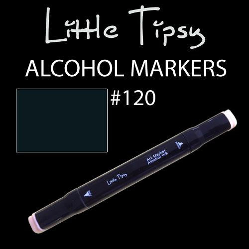 Little Tipsy Double Ended Alcohol Ink Marker - Colour - 120
