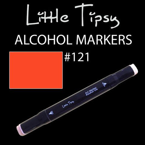 Little Tipsy Double Ended Alcohol Ink Marker - Colour - 121