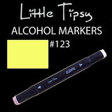 Little Tipsy Double Ended Alcohol Ink Marker - Colour - 123