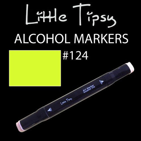 Little Tipsy Double Ended Alcohol Ink Marker - Colour - 124