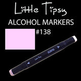 Little Tipsy Double Ended Alcohol Ink Marker - Colour - 138