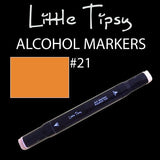 Little Tipsy Double Ended Alcohol Ink Marker - Colour - 21