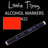 Little Tipsy Double Ended Alcohol Ink Marker - Colour - 22