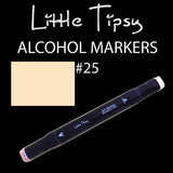Little Tipsy Double Ended Alcohol Ink Marker - Colour - 25