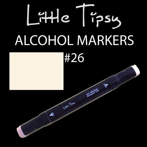 Little Tipsy Double Ended Alcohol Ink Marker - Colour - 26