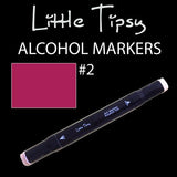 Little Tipsy Double Ended Alcohol Ink Marker - Colour - 2