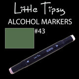 Little Tipsy Double Ended Alcohol Ink Marker - Colour - 43
