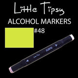 Little Tipsy Double Ended Alcohol Ink Marker - Colour - 48