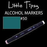 Little Tipsy Double Ended Alcohol Ink Marker - Colour - 50