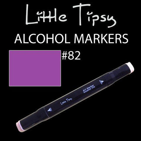 Little Tipsy Double Ended Alcohol Ink Marker - Colour - 82