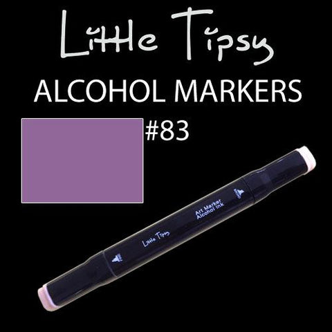 Little Tipsy Double Ended Alcohol Ink Marker - Colour - 83