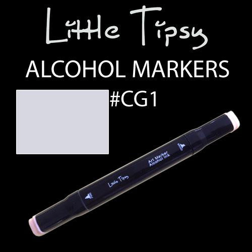 Little Tipsy Double Ended Alcohol Ink Marker - Colour - CG1