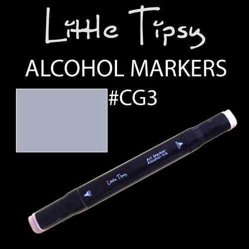 Little Tipsy Double Ended Alcohol Ink Marker - Colour - CG3