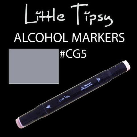 Little Tipsy Double Ended Alcohol Ink Marker - Colour - CG5